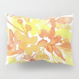 Yellow-Orange Flowers Pillow Sham