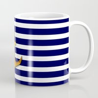 marine Mugs featuring Marine by Elena Indolfi