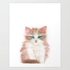 Little Kitten Art Print