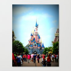Disneyland Castle Canvas Print