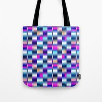 blur Tote Bags featuring Blur by Aimee St Hill