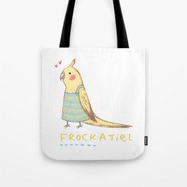 Frockatiel Tote Bag