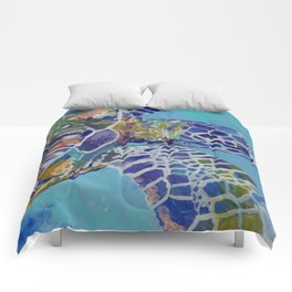Honu Kauai Sea Turtle Comforters