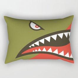 Fighter Shark Rectangular Pillow