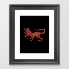 Cerberus Framed Art Print