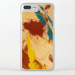 THURSDAY 4.44PM Clear iPhone Case
