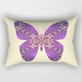 Butterfly 5 (purple) Rectangular Pillow