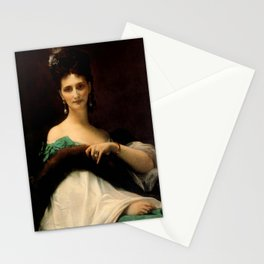 """Alexandre Cabanel """"La Comtesse De Keller (marquise de Saint Yves d'Alveydre)"""" Stationery Cards"""