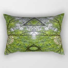 Woodland Canopy Rectangular Pillow