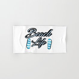 Beach Life Hand & Bath Towel