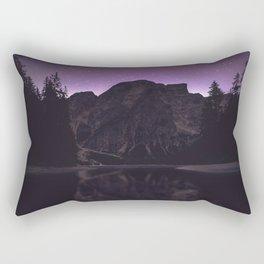 night reflection Rectangular Pillow