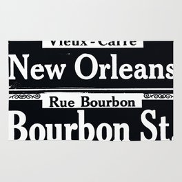 NEW ORLEANS FRENCH QUARTERS Rug