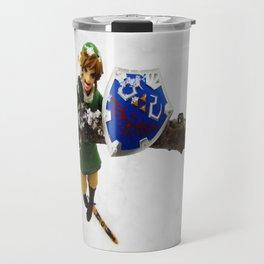 legend of zelda link snow figma Travel Mug