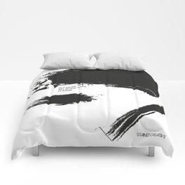 """ NO MORE RAPE "" Comforters"