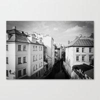 prague Canvas Prints featuring Prague by Alexandra Pandrea