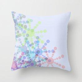 Snow Flakin' Throw Pillow
