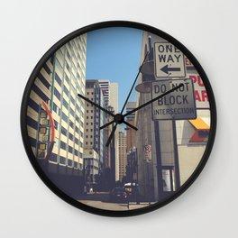 Akard Street Wall Clock