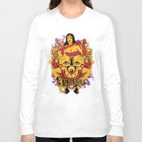rockabilly Long Sleeve T-shirts featuring Sinful rockabilly  by Tshirt-Factory