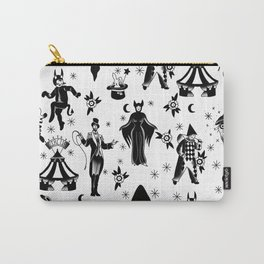 Vintage Halloween Circus Carry-All Pouch