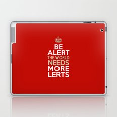 BE ALERT! Laptop & iPad Skin