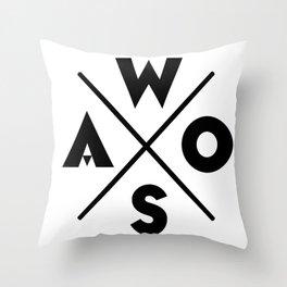 WOSA - World of Street Art Throw Pillow
