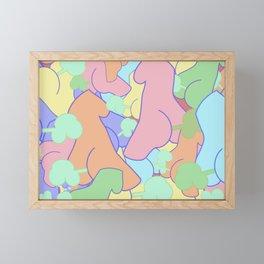 Abstract Ladies Fart Framed Mini Art Print
