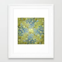 olivia joy Framed Art Prints featuring Olivia by Lisa Argyropoulos