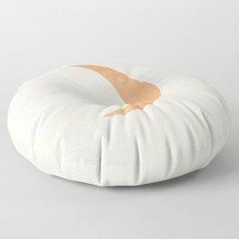 Modern crescent moon   Floor Pillow