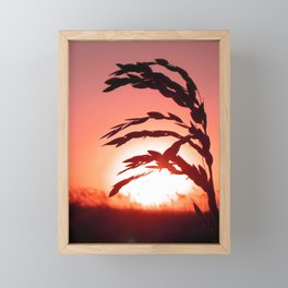 Days End Framed Mini Art Print