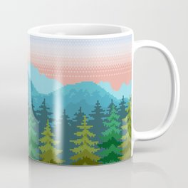 Forests and Mountains Coffee Mug