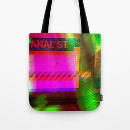 Anal St, Canal St Tote Bag
