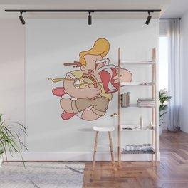 Fast Food. Wall Mural