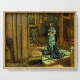 "John Everett Millais ""The Eve of Saint Agnes"" Serving Tray"