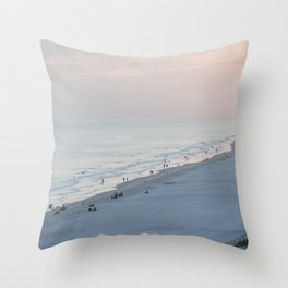 Sea Meets Land Throw Pillow