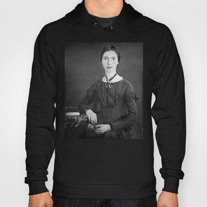 Emily Dickinson Portrait Hoody