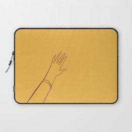 Yellow Hand Laptop Sleeve