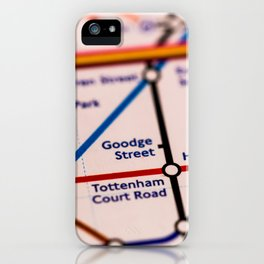 Going (London) Underground iPhone Case