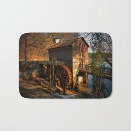 Evening Watermill Bath Mat