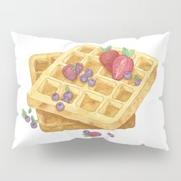 Waffles Pillow Sham