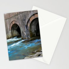 water under the railroad tracks Stationery Cards