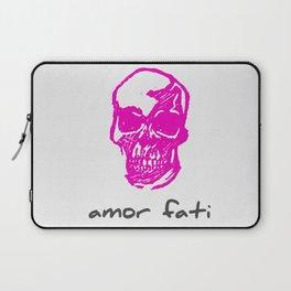 Amor Fati: Pink Skull Laptop Sleeve