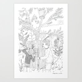 beegarden.works 006 Art Print