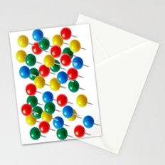 Pushpins Stationery Cards