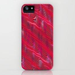 Red Zebra iPhone Case