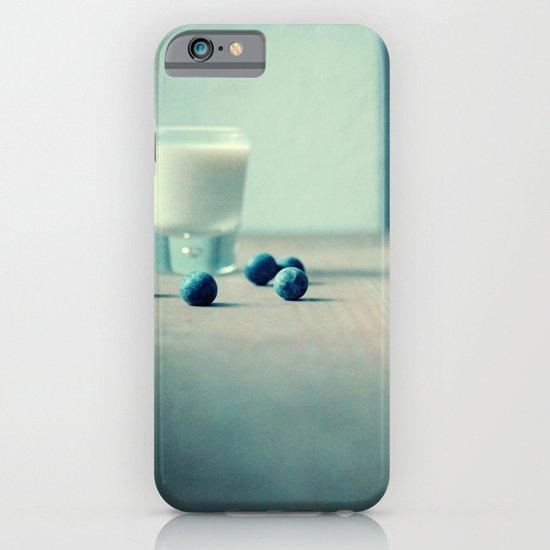 Blue Berry Milk iPhone & iPod Case