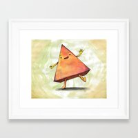 pyramid Framed Art Prints featuring Pyramid by Pumpkin Snipes