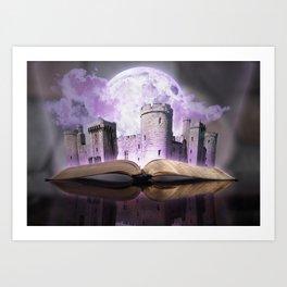Legend of the Castle Art Print