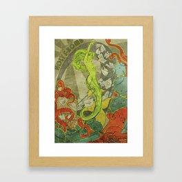 Holy F-Bomb Framed Art Print