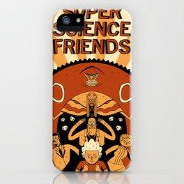 Super Science Friends Kickstarter Poster iPhone Case