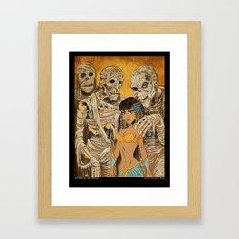 Mistress of the Mummies Framed Art Print